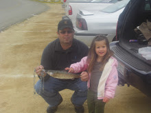 Dad and Ryley Fishing