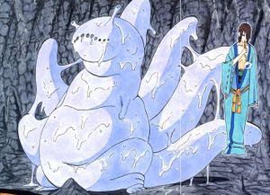 Kuchiyose • Bijuu (Invocação • Monstro com Cauda) Six+tailed+slug