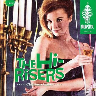 The Hi-Risers: Christmas Lights (7'' Single)