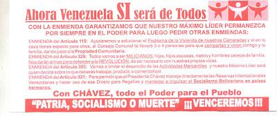 Propaganda Venezuela