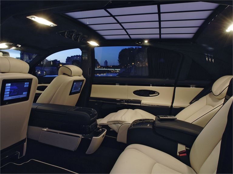 all in one mercedes maybach. Black Bedroom Furniture Sets. Home Design Ideas