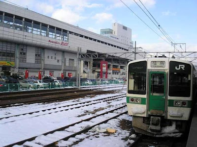 Train From Sendai to Fukushima