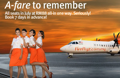 FireFly Airlines Stewardess