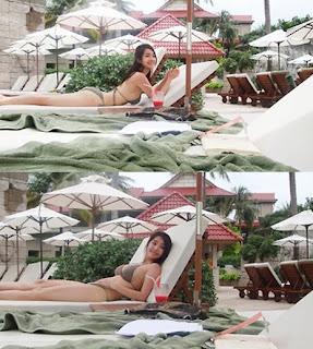 Joo Ah Min bikini