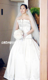 korean wedding dress