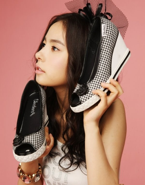 minhyorin skechers1 Latest Korean Girl haircuts