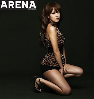 chae yeon arena magazine