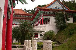 martyrs shrine temple hualien