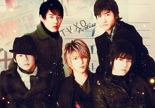 korean boy band TVXQ