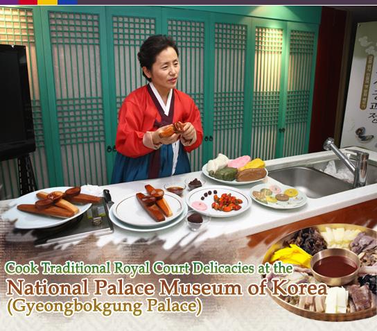 kimchi lesson at Gyeongbokgung palace