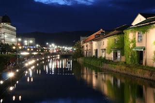otaru canal night