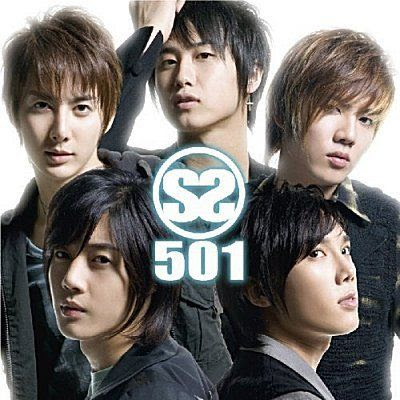 SS501 Korea Boy Band