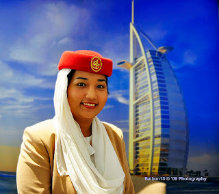 emirates airlines stewardess