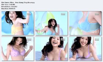 Angel Hou Xiang Ting 34D Bra