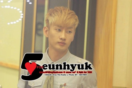 Super Junior Eunhyuk blonde