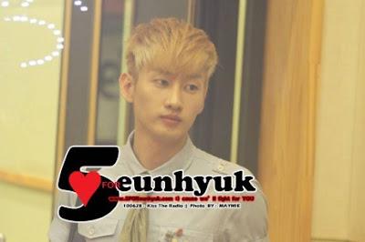 Super Junior Eunhyuk blonde
