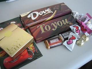 Korea Valentine Day Chocolate