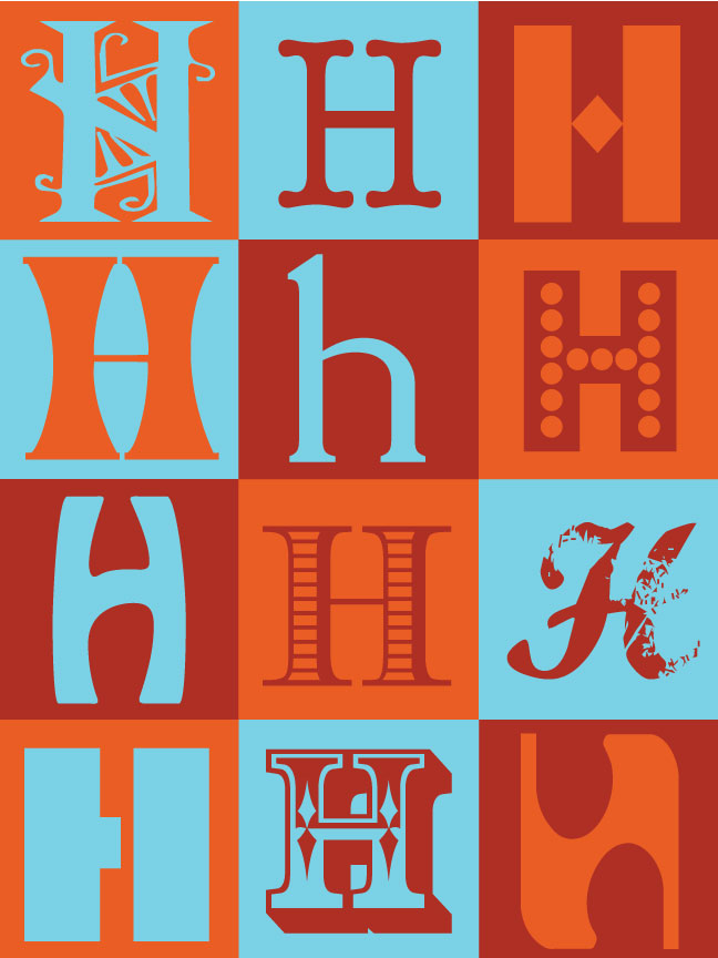 Cool Letter Designs H