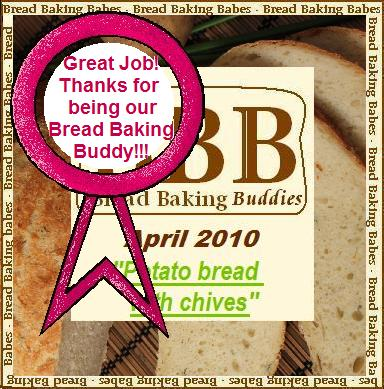 Bread Baking Buddy Badge