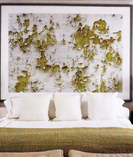 christie chase 268 art as headboard