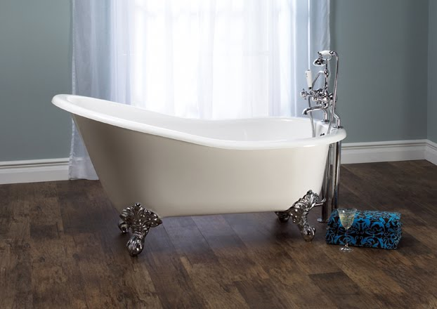 The kitchen and bath people not your grandma 39 s clawfoot - Baignoire pied de lion castorama ...