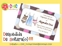 Invitaciones de Despedida de Soltera(o)