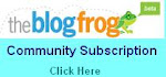 BlogFrog Community Subscription