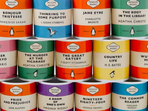 Penguin Book Cover Mugs ~ Mike lynch cartoons happy th birthday penguin books