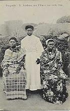 D. Jacobina, seu filho e sua velha mãe- Benguela- Angola