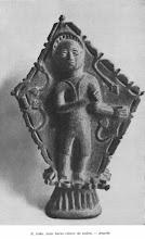 S. João num baixo relevo de pedra Angola