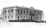 Palácio do Governador  ainda em construção. Mossãmedes