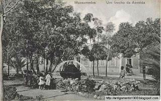 Mossãmedes: trecho da Avenida e tanque