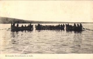 Mossamedes: pesca de arrasto
