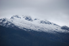 Snow on our mountains, already