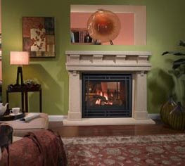 Build Or Remodel Your Own House Ventless Gas Fireplaces