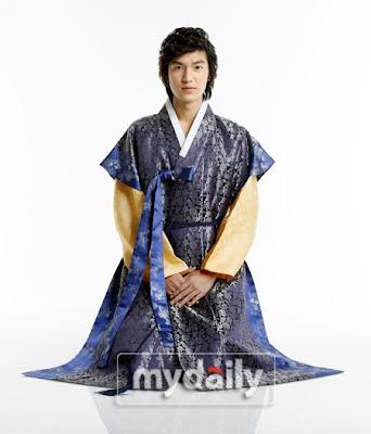 Lee Min ho, hanbok