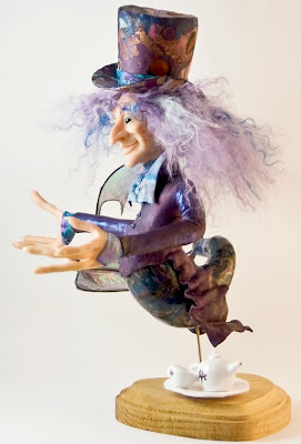 OOAK Mad Hatter Merman