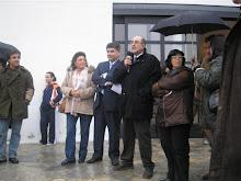 El profesor Lorenzo Sánchez López en el Museo del Carro