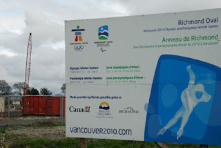 2010 Olympics, Richmond Oval Venue, Richmond, British Columbia, Canada