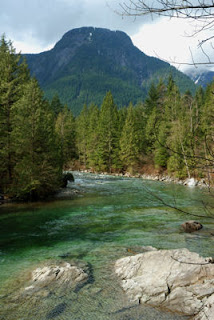 Golden Ears Provincial Park, BC, Canada, North Beach Trail Views
