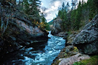 Top places to visit in British Columbia, Adam's River Gorge, British Columbia, Canada