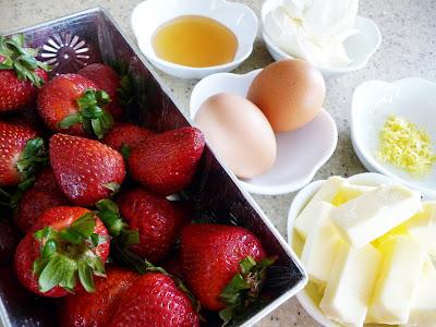 Strawberry Mascarpone Scones with Honey Milk Glaze | Good ...