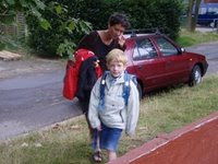 Laurits første skoledag