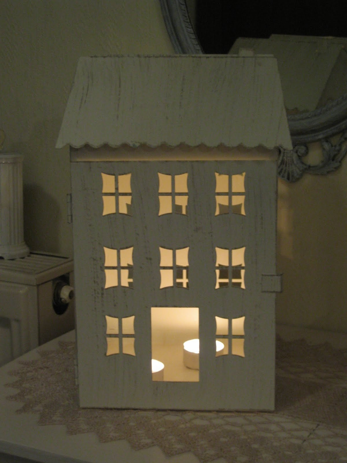 This tealight house You already know ...