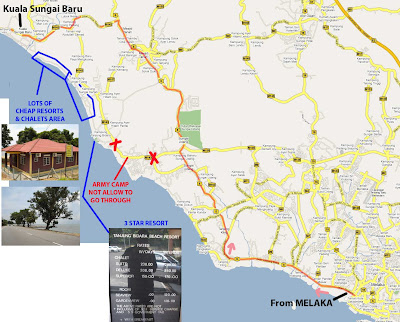 Resort Kuala Sungai Baru Melaka From Melaka to Kuala Sungai