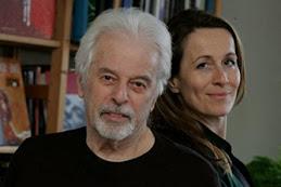 Alejandro Jodorowsky insieme a Marianne Costa