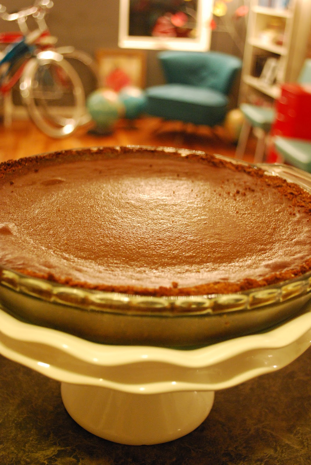 Pie Love You: Chocolate Pumpkin Pie #43