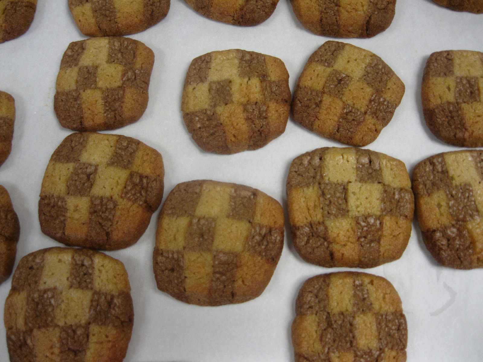 Cooking With Claire Checkerboard Icebox Cookies