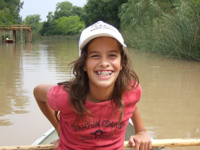 mi hermosa sobrina Marieclaire de Sta. Teresita