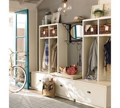 DIY shoe & coat rack